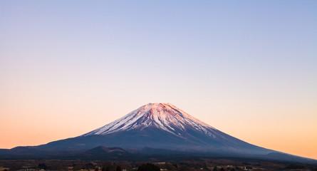 静岡からみた富士山
