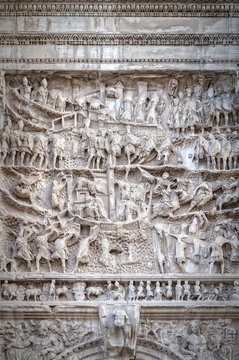 Rome Arch of Titus Relief