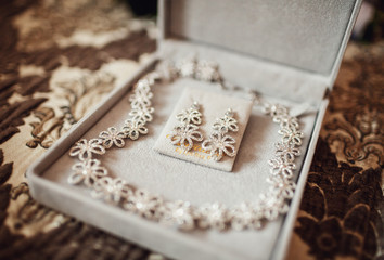 Wonderful jewerly for wedding look