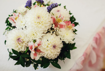 Woderful bouquet for the wedding