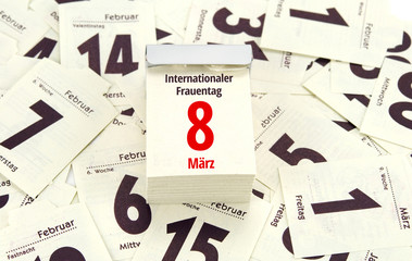 Internationaler Frauentag 8. März