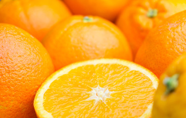 Fototapete - Frische Orangen