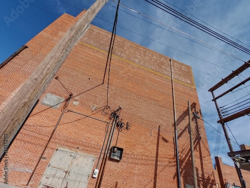 Wondrous Brick Wall And Wiring Stock Photo And Royalty Free Images On Wiring Digital Resources Indicompassionincorg