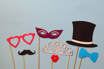 carnival, party or wedding celebration concept