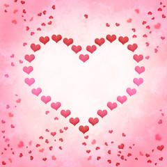 Liebe Valentins Hintergrund Herzen