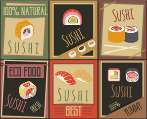 Traditional Japanese Food Cards