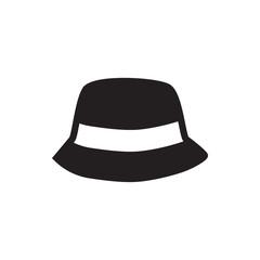 beach hat icon.