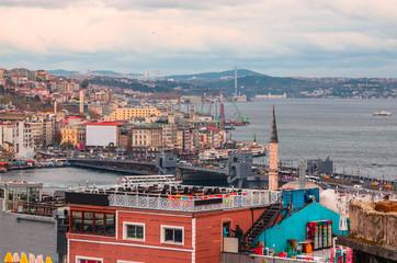 Panoramic view of Istanbul, Turkey