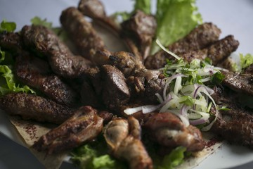 Azeri national meat food