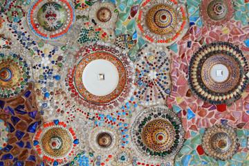 The mosaic decoration mix