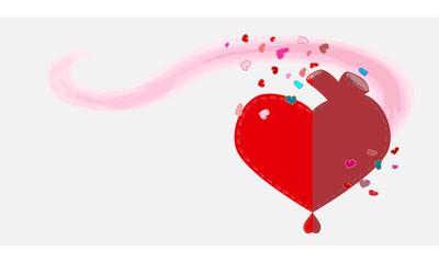 san Valentín Tarjeta
