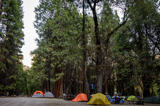Camp four in Yosemite.