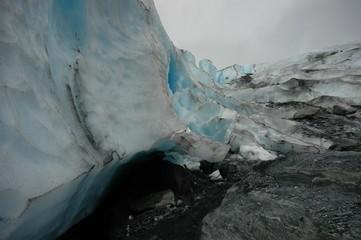 Glacier Ice Wall