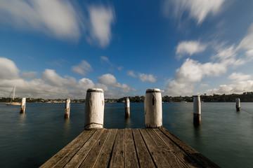 Papiers peints Ville sur l eau Sydney, jetty at Birchgrove
