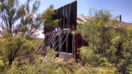 Old Abandoned Store in West Texas Ghost Town