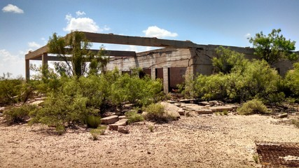 Forgotten Ghost Town of Times Past