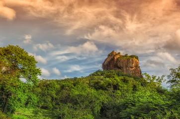 Srilanka Sigiriya ancient mountain