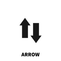 Arrow icon or logo in modern flat style.