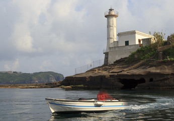 lighthouse in ventotene