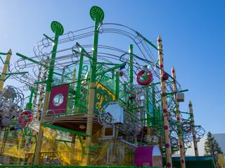 Amusement park in Japan