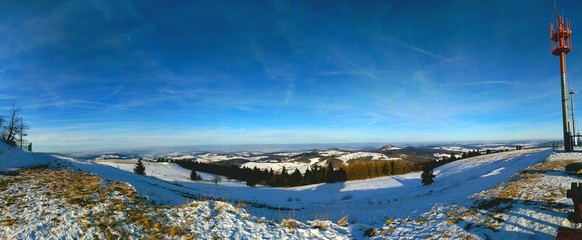 Winterlandschaft Mittelgebirge