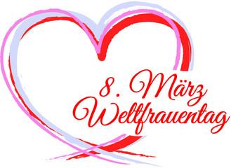 8. März Weltfrauentag