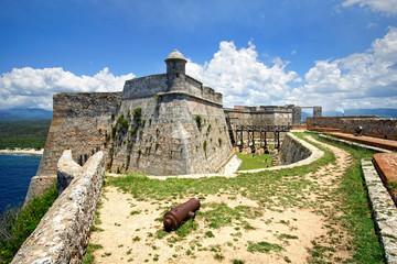 Castillo de San Pedro de la Roca aka Castillo del Morro, Santiago de Cuba, Kuba