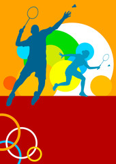 Badminton - 89 - Poster