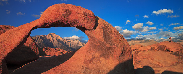 Mobius Arch in Alabama Hills