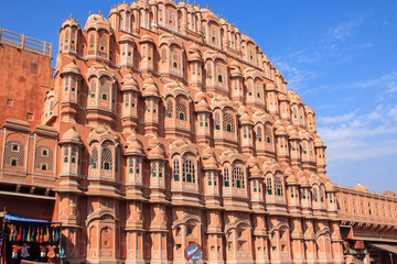 Hawa Mahal or Palace of the Winds, Jaipur.