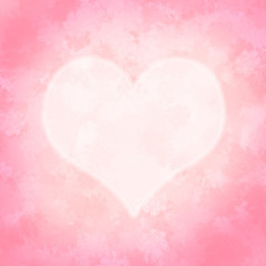 Aquarell Herz Hintergrund rosa pastell Malerei