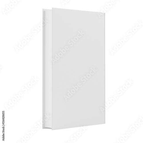 blank book cover template with pages on white background 3d rendering stock photo and royalty. Black Bedroom Furniture Sets. Home Design Ideas