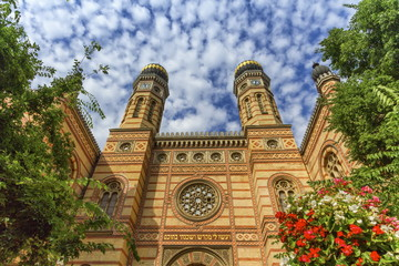 Dohany street synagogue, the great synagogue or tabakgasse synagogue, Budapest, Hungary