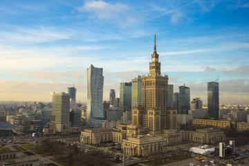 Amazing Warsaw skyline.