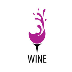 vector wine logo