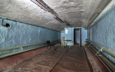 Compartment of an old abandoned buildings for civil protection