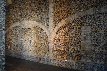 Wall of Bones and Skulls