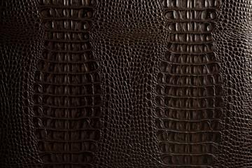 dark leather texture background close up macro
