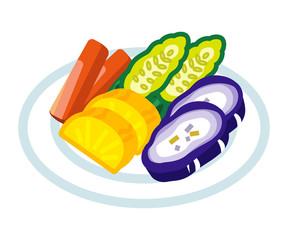 漬け物 -Japanese Pickled Vegetable