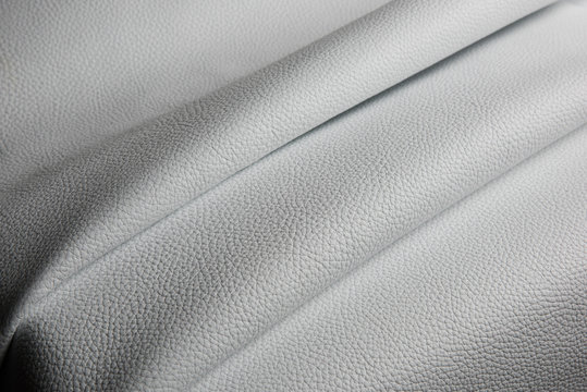 white leather texture background close up macro
