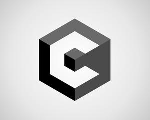 Letter C Cube