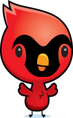 Cartoon Cardinal