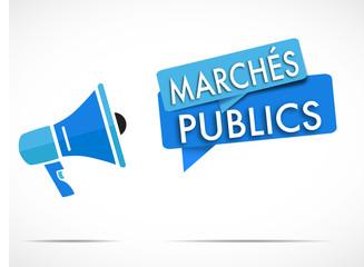 mégaphone : marchés publics