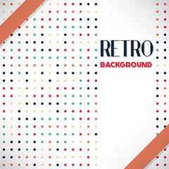 vintage halftone style background Design Template,Vector Illustration