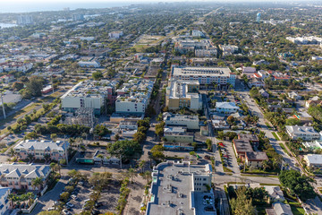 Aerial Delray Beach, Florida