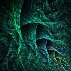 Abstract Fractal   Plexus Background  -  Fractal Art
