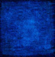abstract blue background of elegant dark vintage grunge