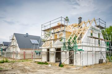 Eigenheim Baustelle