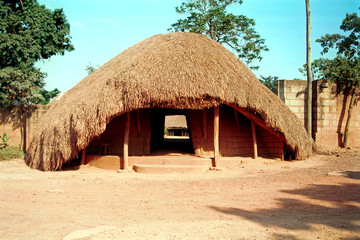 Buganda Royal tombs, Kampala, Uganda