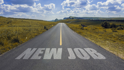 road to new job